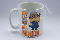 Despicable Me You Are One In A Minion Name Minions Gift Tea Coffee Mug Christmas