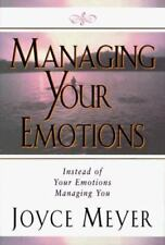 Managing Your Emotions a Christian Hardcover book by Joyce Meyer FREE SHIPPING