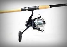 "6'6"" 15Kg Carbon Long Cast Spin Combo - Leader Surf Rider 9BB Reel+Taima 198 Rod"