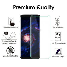 Lot Tempered Glass Screen Protector Guard For Samsung Galaxy S9 Clear