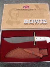 LNIB Case Hunter Bowie Knife 02000 White Handles