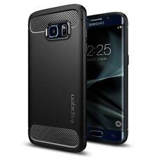 Spigen Rugged Armor Case for Galaxy S7 edge - Black