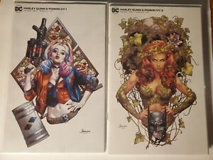 Harley Quinn and Poison Ivy #1 & #2 Anacleto Variant DC NM MINIMAL Trade Dress