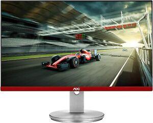 "AOC 24""FHD 1920x1080 1ms 144Hz FreeSync G2490VXS Gaming Monitor Silver Limited E"
