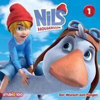 NILS HOLGERSSON - 01: DER WUNSCH VOM FLIEGEN (CGI)   CD NEU