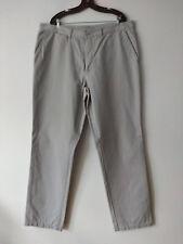 Pantalón chino para hombre de New Caro, gris, talla 54