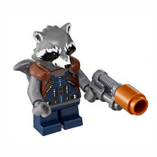 LEGO Marvel Super Heroes Minifigure - Rocket Raccoon- NEW from set 76102