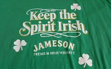 Vintage Jameson Irish Whiskey Keep The Spirit Irish 80s tee szXL CLEAN