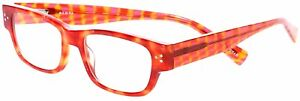 Eyebobs-2883 Dot Com-46 Red Orange Tortoise +3.00