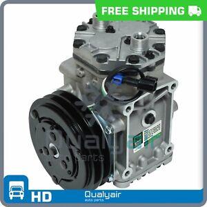 AC Compressor York 210 fits Freightliner/Kenworth/Peterbilt - 4379RD5112180