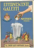 CARTOLINA PUBBLICITARIA: MONTEVARCHI Arezzo - Galeffi
