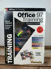 Microsoft Office 97 Training Software CD Set - Rare Sealed!