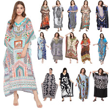 Kaftan Dress Caftan Beach Cover Boho Gown Hippie Beach Women Plus Size Tunic Top