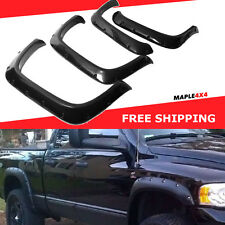 94-01 Dodge Ram 1500 Pocket Fender Flares Matte Flat Black OE Style Paintable