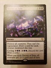 MTG Magic The Gathering Decree of Pain Commander 2013 C13 HP