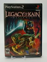 Legacy of Kain: Defiance (Sony PlayStation 2, PS2 2003) Complete in Box Eidos