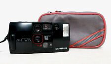 Vintage OLYMPUS AF-1 TWIN 35mm film point and shoot compact camera lomo
