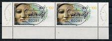 Bund Mi-Nr 2097 wgr.Paar m.E3+4 (300+100) -Sport u.Frieden- EST Frankfurt/M 1999