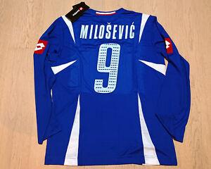 Serbia and Montenegro 2006 World Cup Home Football Shirt L/S #9 Savo Milošević