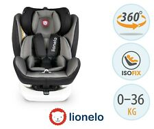 BABY CHILD CAR SEAT ISOFIX 0-36 KG TODDLER FROM BIRTH ROTATE 360° LIONELO