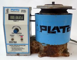 PLATO SOLDER POT MODEL SP-500T FOR LEAD-FREE SOLDERING TESTED AND WORKING