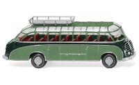 #073002 - Wiking Reisebus (Setra S8) - dunkelgrün/resedagrün - 1:87