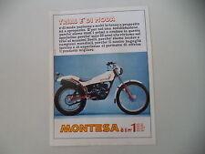 advertising Pubblicità 1981 MOTO MONTESA COTA 348 TRIAL