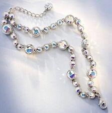 Touchstone Crystal by Swarovski Reverie  Crystal 2-stand Bracelet   New
