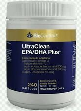 BioCeuticals UltraClean EPA/DHA Plus 240 capsules AUST L 211038 -OzHealthExperts