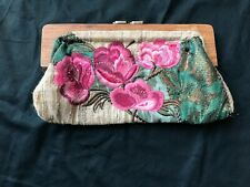 Accessorize. Embroidered clutch bag