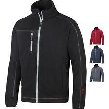 Mens Snickers Work Workwear Warm AIS Fleece Jacket Top (8012)