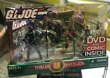 GI Joe Playset Ninja Battles Display BASE Original Part