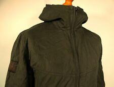 Pretty Green | Khaki Sevenoaks Hooded Jacket - M|L - Ska Mod Scooter 80's Casual