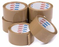 """Best Quality PRIMA 24 Rolls Clear Tape Parcel Packing 1/"""" 24MM X 66M Cheap"""