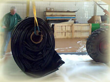 (5,29€/m²) Kleine Schwarz PVC Teichfolie 1 mm Teichfolien Bachlauf verschiedene