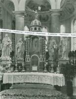 Füssen : Hochaltar in der Pfarrkirche - um 1925          V 13-20