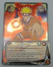 Loose Naruto Card Naruto Uzumaki US122 Overflowing Chakra Super Rare SR Foil