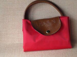 Lifecell folding waterproof shopper bag