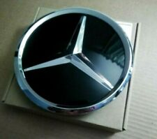 1 x Mercedes Benz 185mm Front Grill Badge Complete. W447, GLX X204 W218 W207 W23