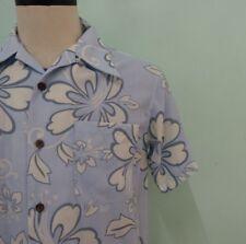 A67 Tropical Island Hawaiian Aloha Shirt Floral Flower Size M