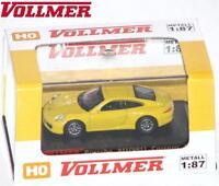 Vollmer Cars H0 41612 Porsche 911 Carrera S gelb - NEU + OVP