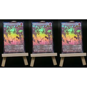 Yugioh ORICA 3x-Playset: Ash Blossom & Joyous Spring Full-Art | Holo Orica Card