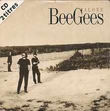 CD SINGLE 2 TITRES--BEE GEES--ALONE--1997