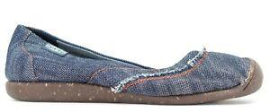 New Keen Sienna Skimmer Womens Denim Slip On Hiking Walking Shoes US 7 EU 37.5