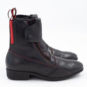 Hobo Equestrian Boot 2 Zipp Sepp schwarz Damen 39 Reitsport Stiefelette