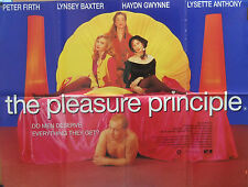 Peter Firth  THE PLEASURE PRINCIPAL(1992)Original UK quad cinema poster
