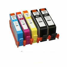 5 CHIPPED Ink Cartridge 364XL for  5520 5524 6510 6520 7510 PRINTERS PHOTO BK