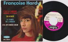 Francoise HARDY * 60's French POP YeYe MOD SOUL POPCORN EP * Listen!