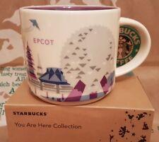 Starbucks Coffee Mug/Tazza Disney's Epcot yah, nuovo in scatola regalo originale!!!