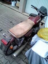 Moto Guzzi V 35 50 65 I II Imola TT LEDER leather Sitzbank seat selle posto